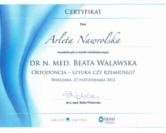 Arleta Nawrolska - certyfikat (3)